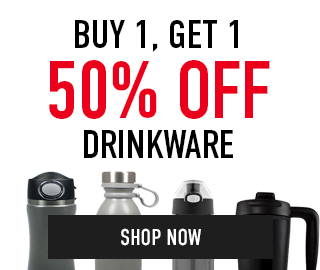 Buy 1, get 1 50% off Drinkware. Click to shop now.