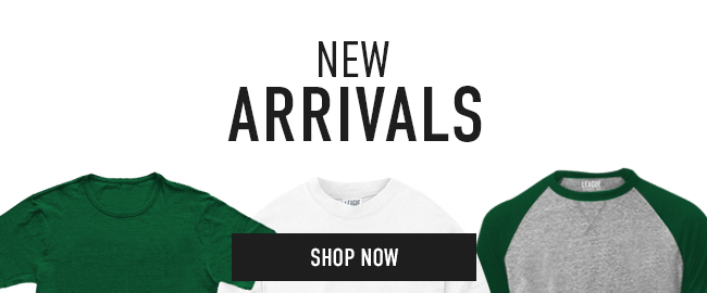 Picture of shirts. New Arrivals. Click to shop now.